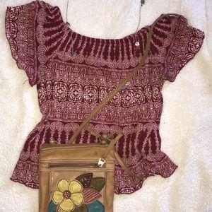 Cute summer blouse!!🌼